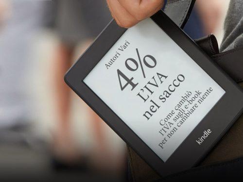 Ebook confermata l'IVA al 4%